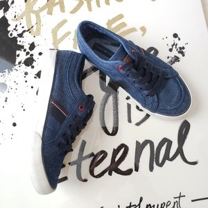 Tommy Hilfiger Boy's Denim Retro Lace up Sneakers